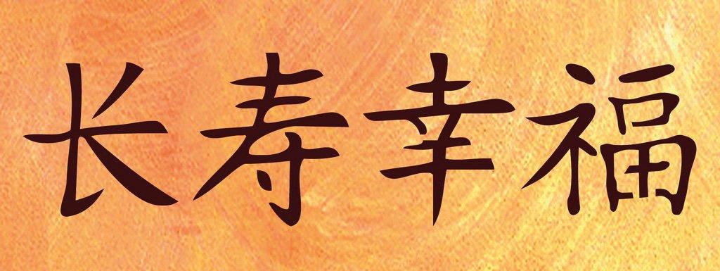 wandschablonen chinesisches zeichen gl ck schablono. Black Bedroom Furniture Sets. Home Design Ideas