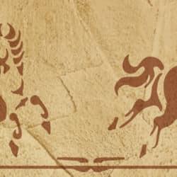 Schablone Pferde 2