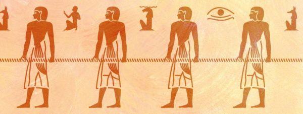 Wandschablone Egypt Ägypten