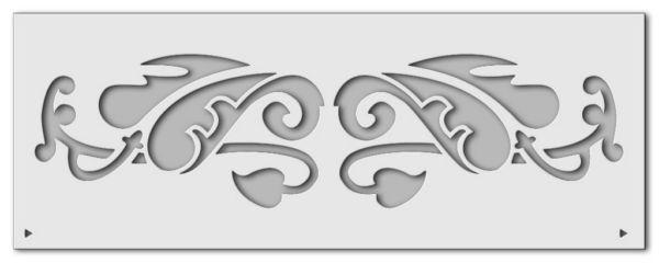 Wandschablone Bordüre 3