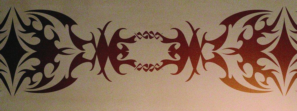 Wanschablone Tattoo Tribal6