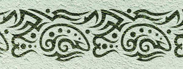 Wanschablone Tattoo Tribal14
