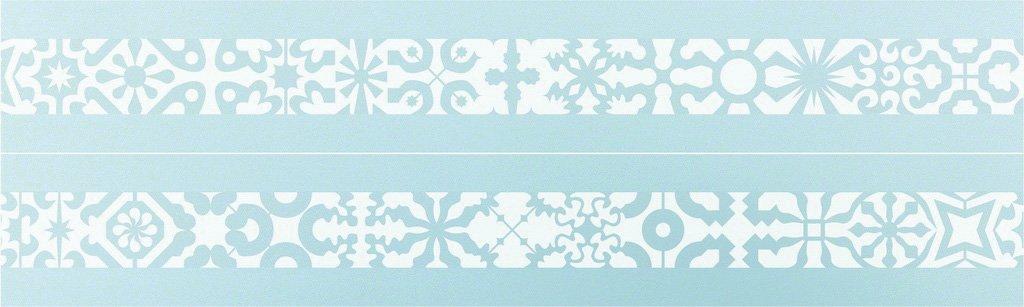 Wandschablone Kultur Ornaments 2 passend zur Nr. 0346, Ornaments 1