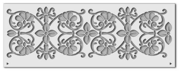 Wandschablone Blume von Jericho