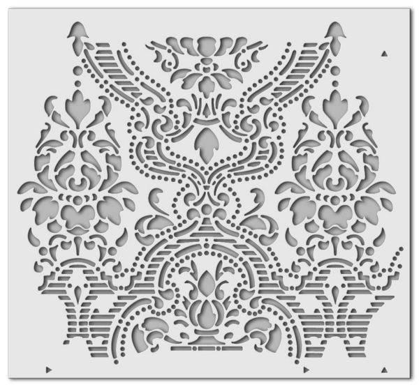 Wandschablone BlumenBouquet