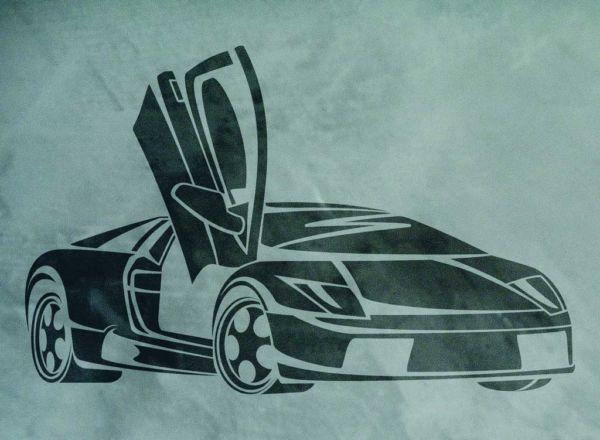 Wandschablone Lamborghini Special
