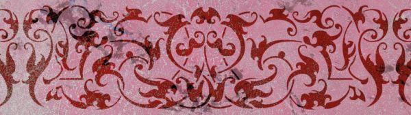 Wandschablone 1001 Nacht floral