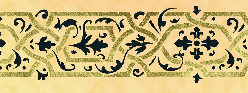 Orientalische Muster Schablonen für orientalisch Wohnen