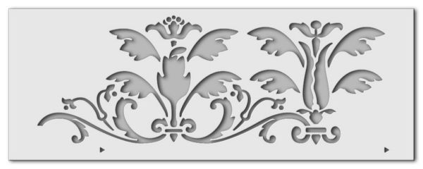 Wandschablone Versailles