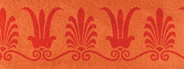 Palmettenlotosranke Grigio floral