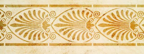 Wandschablone Palmette Elektra Kultur