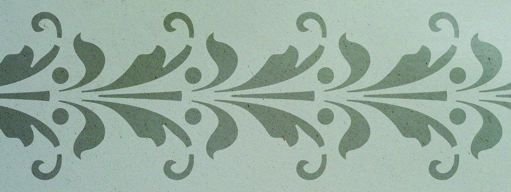 Wandschablone Granada floral
