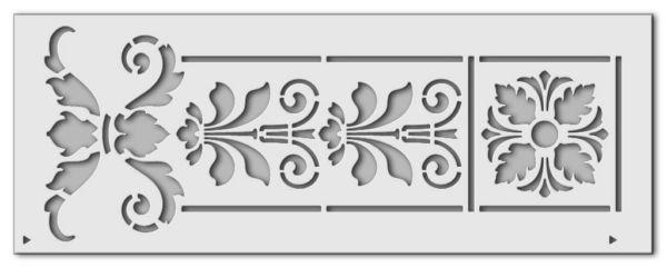 Wandschablone Parzival