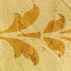 Wandschablone Historicalway floral
