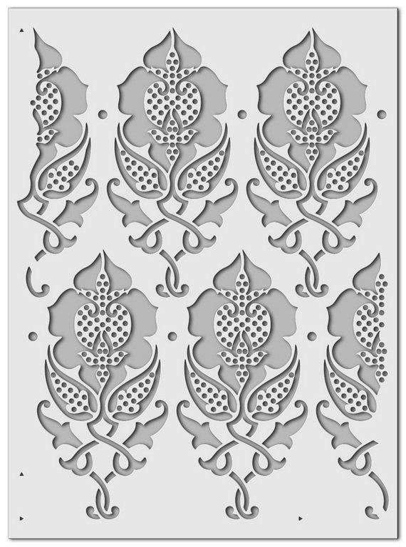 Wandschablone Osmantik