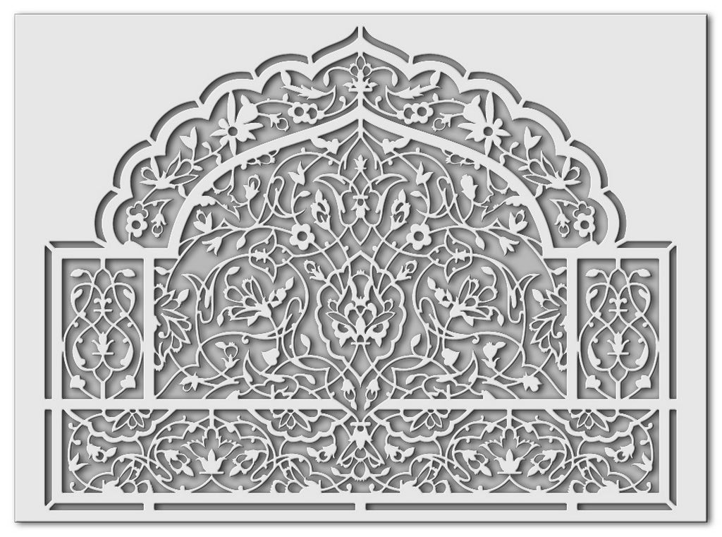 orientalischer stil by schablono dekorativ und m rchenhaft. Black Bedroom Furniture Sets. Home Design Ideas