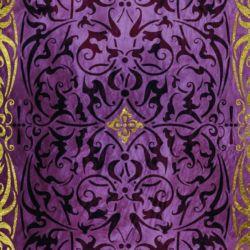 Wandschablone Sheherazade floral