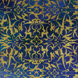 Wandschablone Kadisch floral
