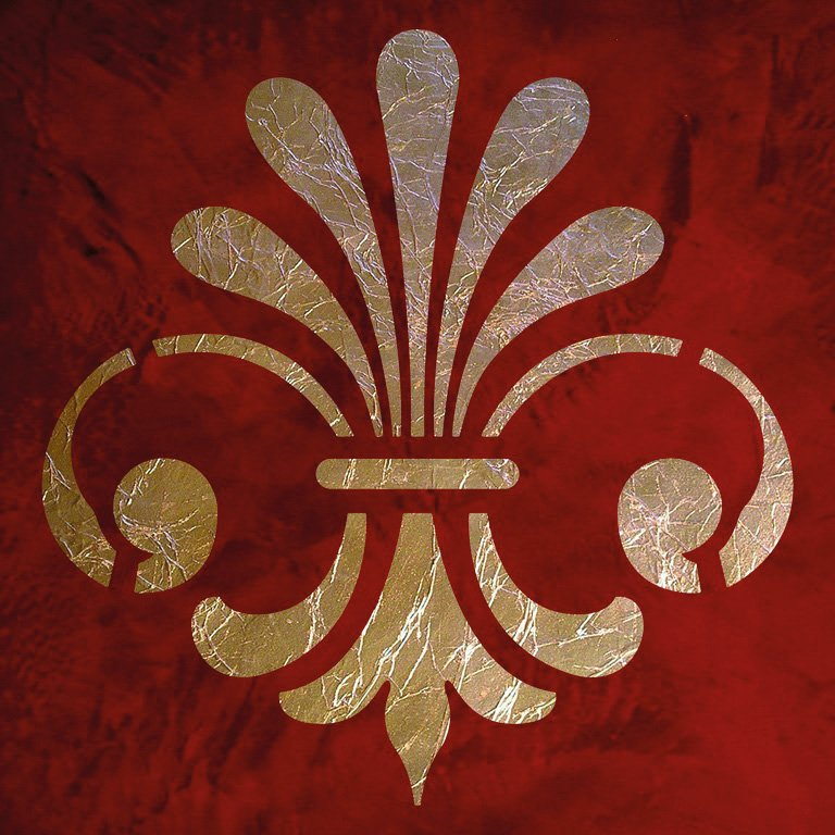 Wandschablone Romanika Kultur