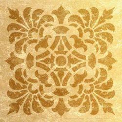 Wandschablone Centrino floral