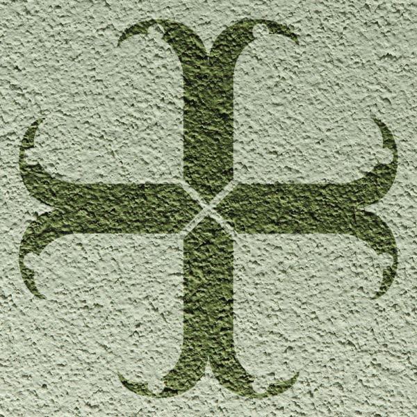 Wandschablone Gothic Mystik