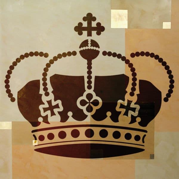 Wandschablone Kronjuwelen Special