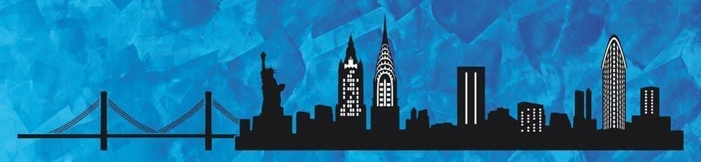 Wandschablone New York Special