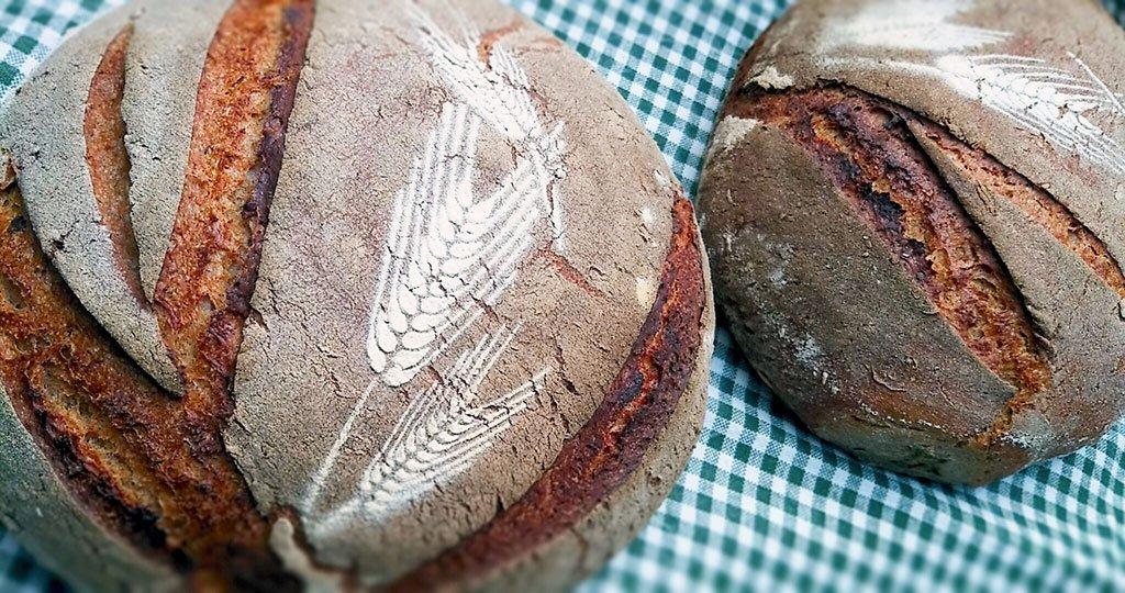 Schablone f+ür Brote