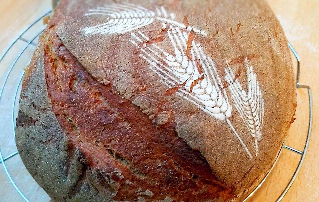 Schablone für Bäcker