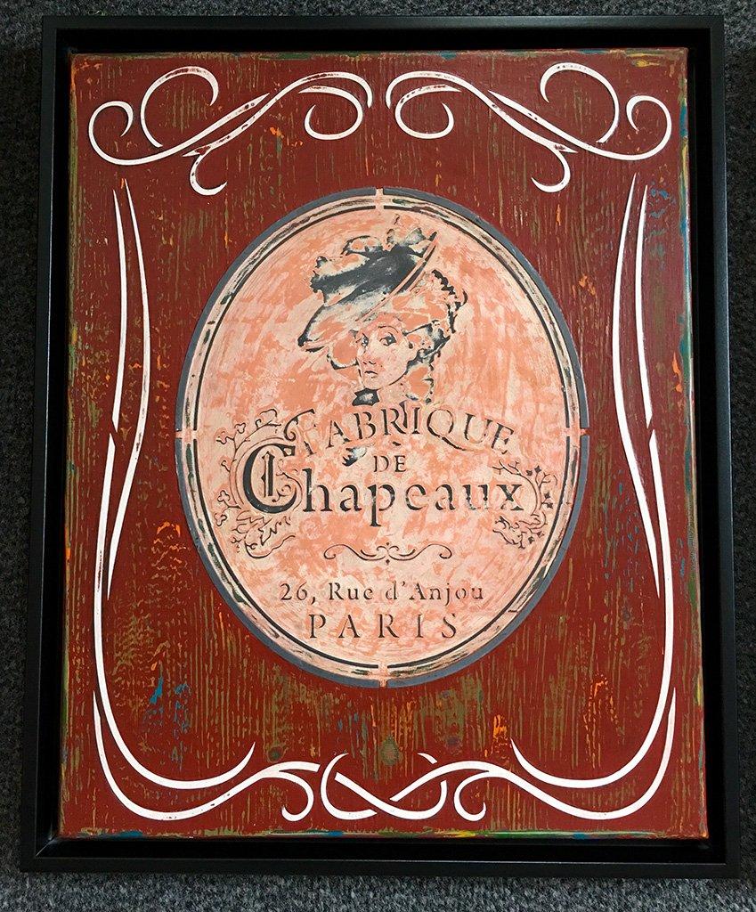 Französischer Vintage-Style mit Schablonen
