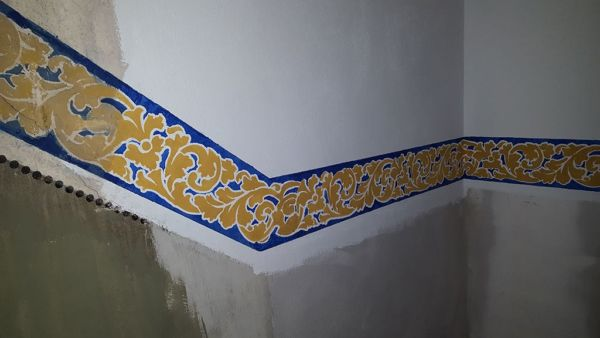 Treppenhausgestaltung im Stil der guten, alten Zeit