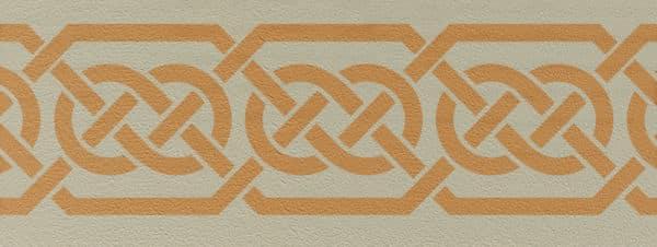 Wandschablone Keltisches Band 5 Kultur