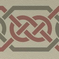 Wandschablone Keltik 5 Kultur