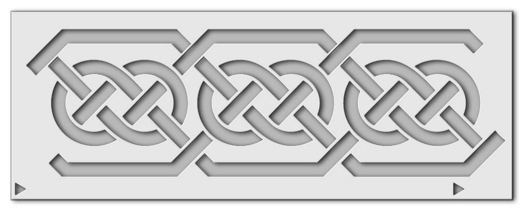 Wandschablone Keltik 5 Druck