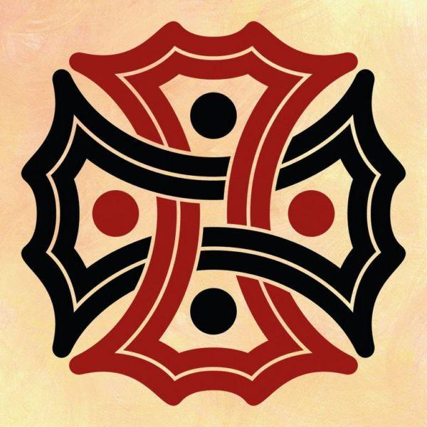 Wandschablone Kultur Keltischer Knoten