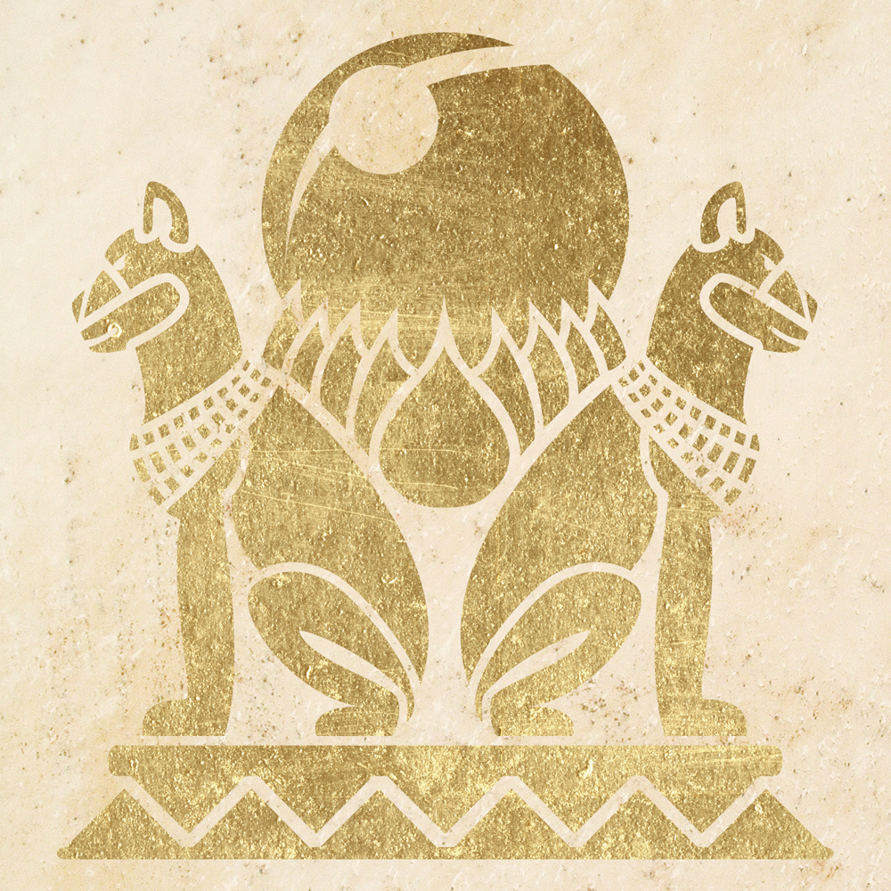Wandschablone Kultur Eqypt-Cat 2