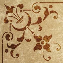 Wandschablone Cultura floral