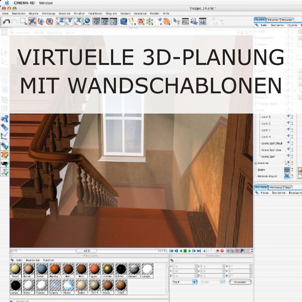 Treppenhaus 3D-Planung