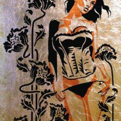Wandschablone Erotik Im Garten