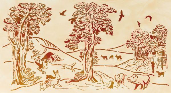 Halali Wald
