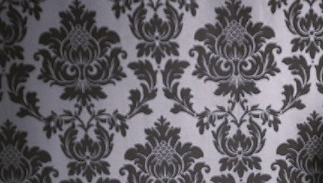 Wandbemalung mit Schablono