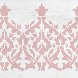 Orientalische Muster Schablonen Fur Orientalisch Wohnen