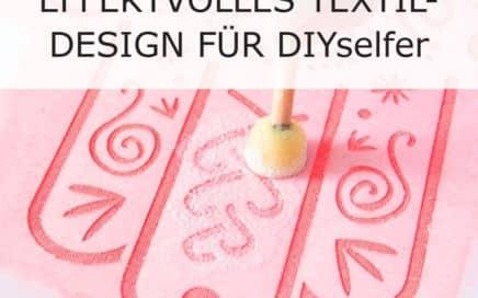 Textildesign Stoffmalfarbe